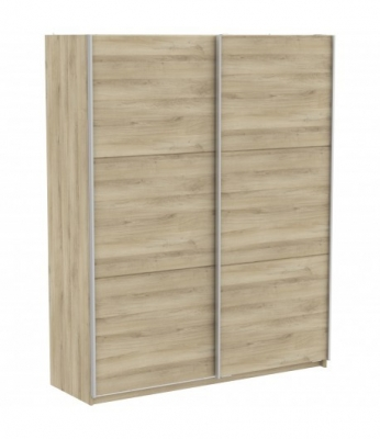 Armoire 2 portes coulissantes 180cm AALABAMA